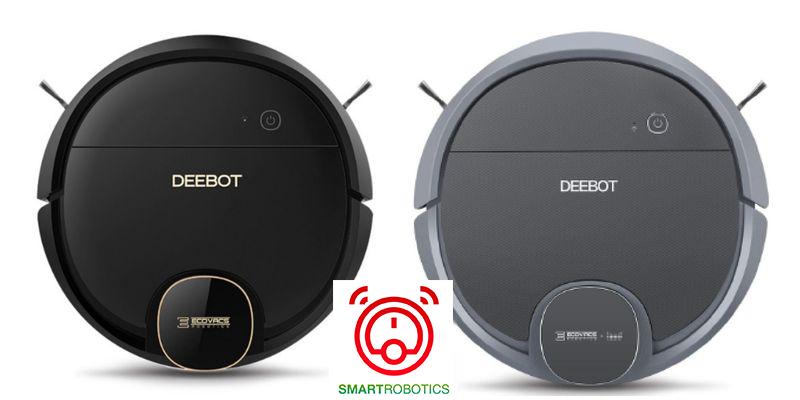 So sánh robot hút bụi Deebot DN của Ecovacs