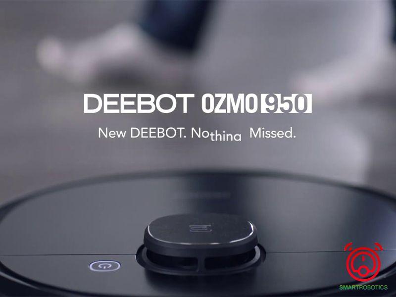 Robot hút bụi thông minh Ozmo 950 công nghệ làm sạch được cải tiến