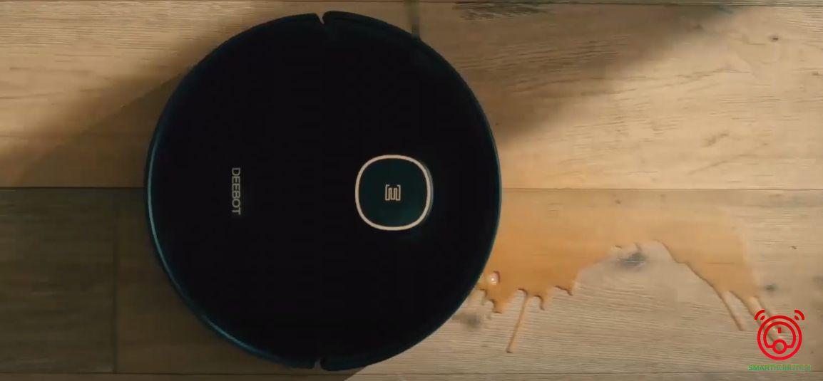 Robot hút bụi Ecovacs Deebot T5 Hero xử lý vết bẩn thông minh