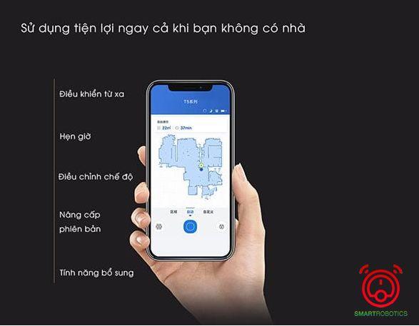 Khả năng kết nối thông minh điều khiển linh hoạt ngay trên ứng dụng điện thoại