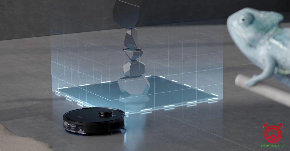 Robot hút bụi Ecovacs Deebot T5 Hero có tính năng thông minh tạo tường ảo hạn chế khu vực lau dọn