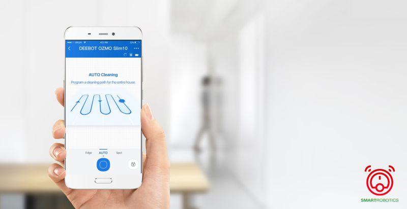Ứng dụng Ecovacs Home hộ trợ người dùng điều khiển linh hoạt