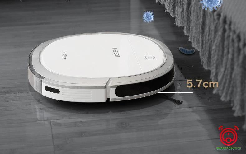 Ecovacs Deebot DK35 thiết kế tinh tế kích thước nhỏ gọn