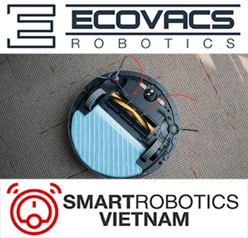 Tấm lau sàn robot hút bụi Ecovacs dòng DN - DN33/DN55/DN520 10