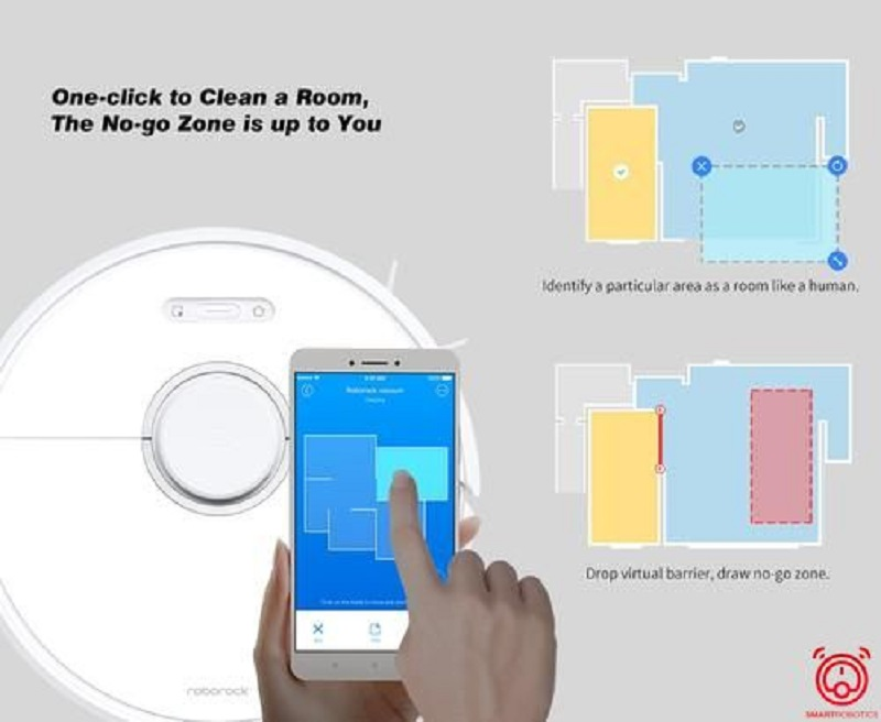Điều khiển qua ứng dụng điện thoại thông minh