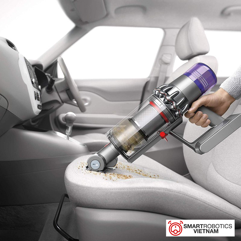 Sử dụng Dyson V11 cho ghế trên ô tô
