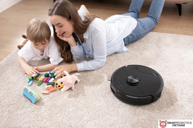 Lựa chọn robot hút bụi phù hợp với nhu cầu sử dụng của gia đình