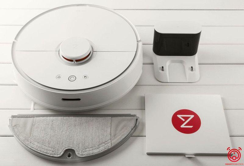 Thiết kế sang trọng tinh tế của Robot hút bụi Xiaomi