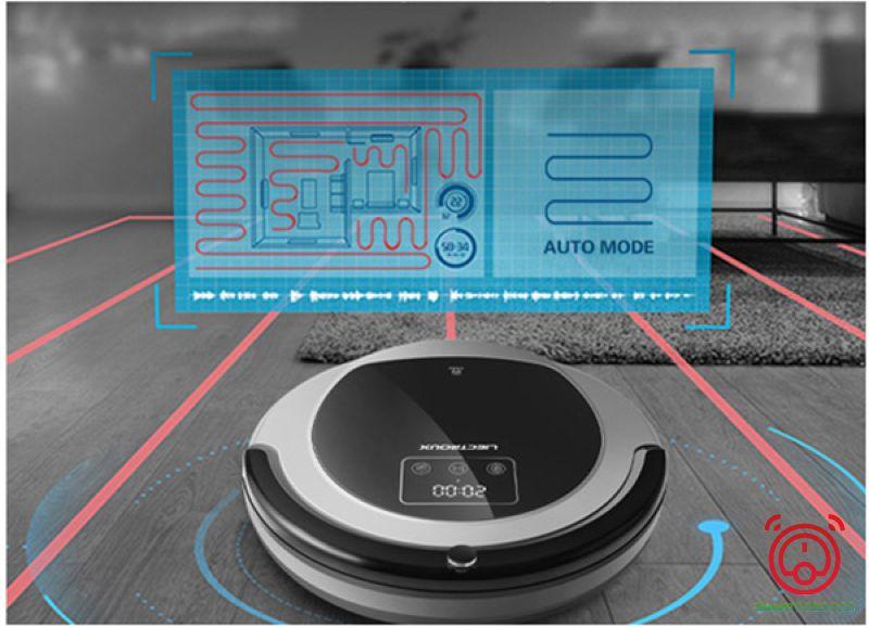 Thuật toán Bionic cải thiện hiệu quả làm sạch cho Liectroux