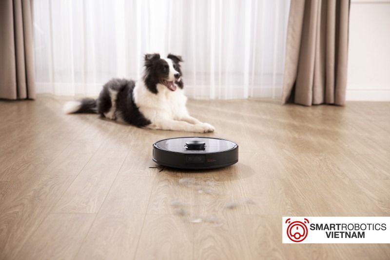 Roborock S6 MaxV phù hợp cho người nuôi pet