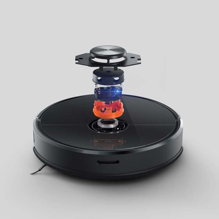 Roborock Gen 3 (T6) giảm đến 50% cường độ tiếng ồn