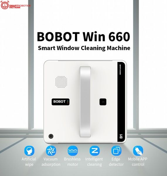Robot lau kính Bobot Win 660