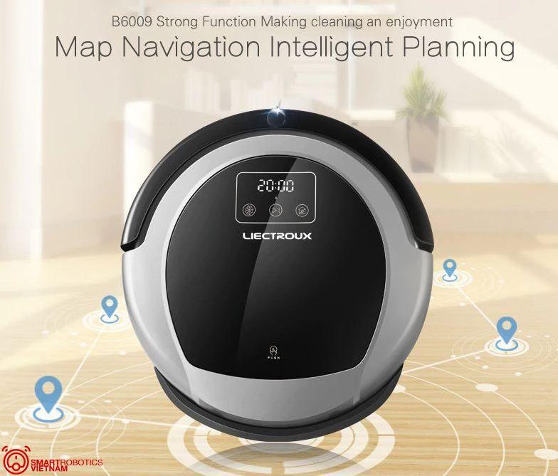Công nghệ điều hướng bản đồ thông minh, lên kế hoạch làm sạch triệt để