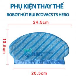 Tấm lau sàn robot hút bụi Ecovacs T5 Hero 8