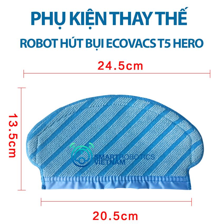 Tấm lau sàn robot hút bụi Ecovacs T5 Hero