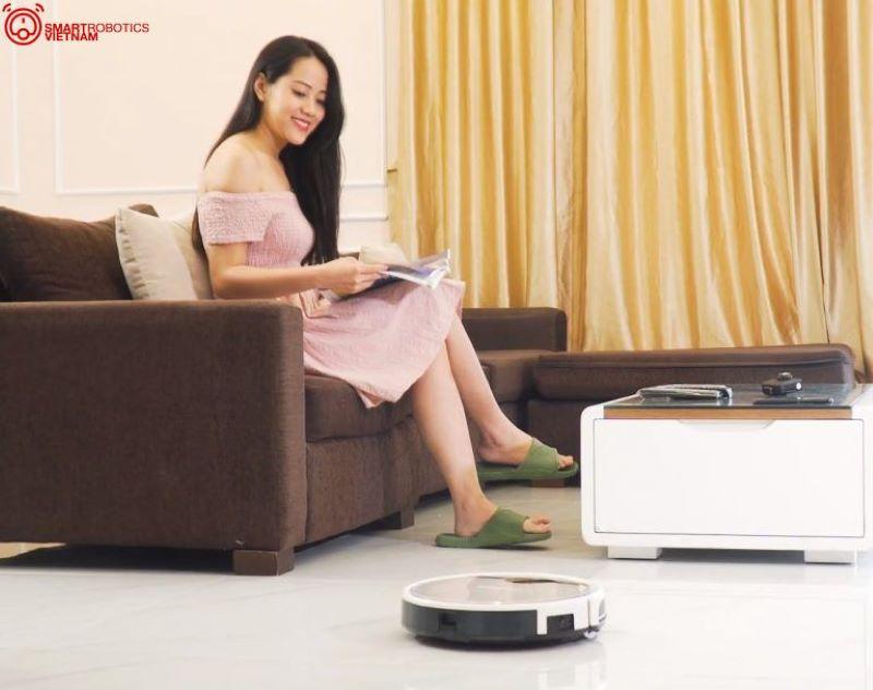 Robot hút bụi đem lại thời thảnh thơi cho các bà nội trợ