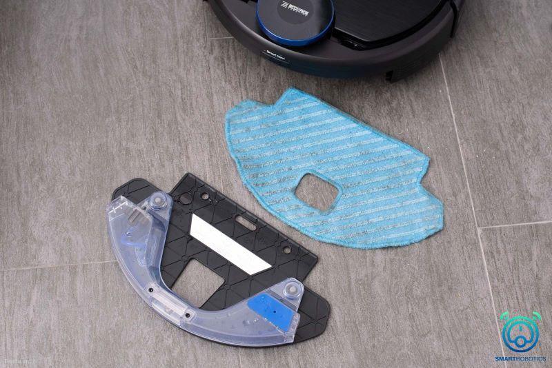 Hướng dẫn sử dụng robot hút bụi Ecovacs với tấm khăn lau sàn tiện ích
