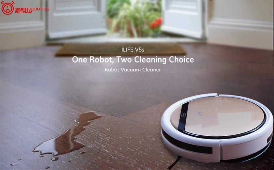 Robot hut bui lau nha ilife