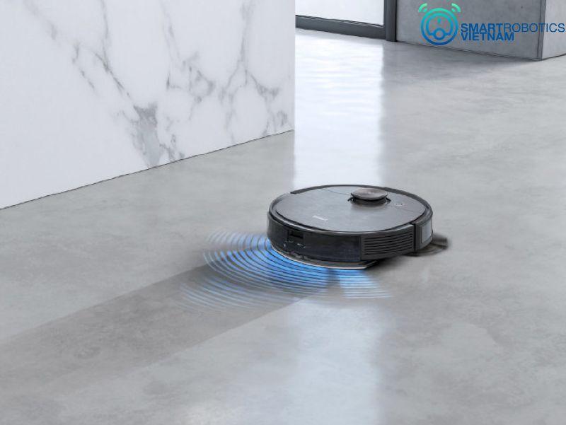 Đánh giá Ecovacs Deebot T8 Aivi Plus - khả năng lau sàn siêu sạch