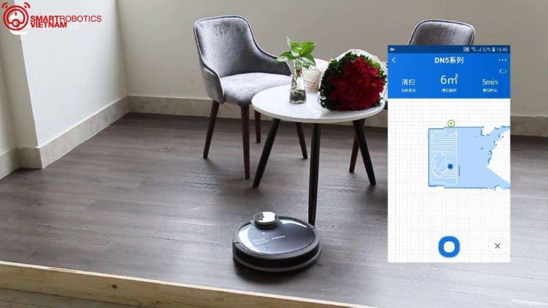 Robot Hút bụi Ecovacs Deebot DN55 (Ozmo 900)