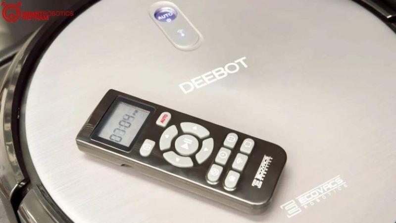 Sử dụng remote để điều khiển robot một cách thông minh