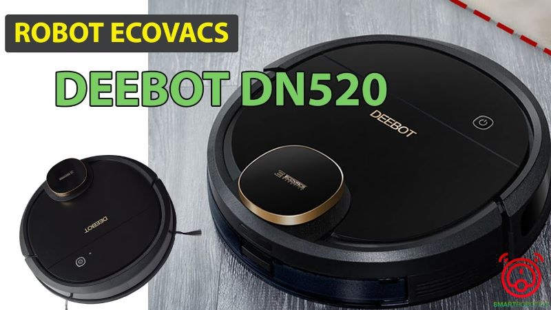 Robot hút bụi lau nhà Ecovacs Deebot DN520