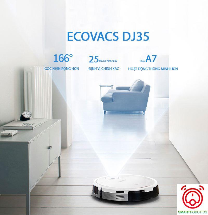 robot hút bụi ecovacs dj35