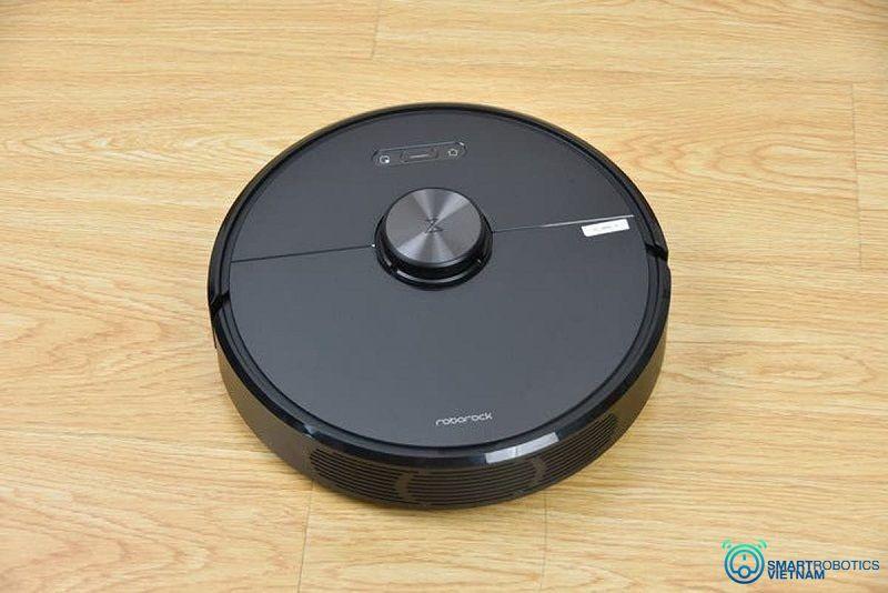 Robot hút bụi lau sàn nhà thông minh, di chuyển làm sạch tốt