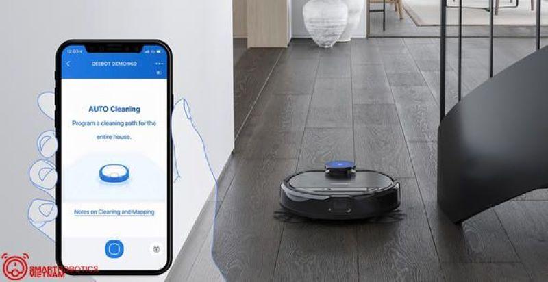 Tính năng tự động kết nối với điện thoại thông minh