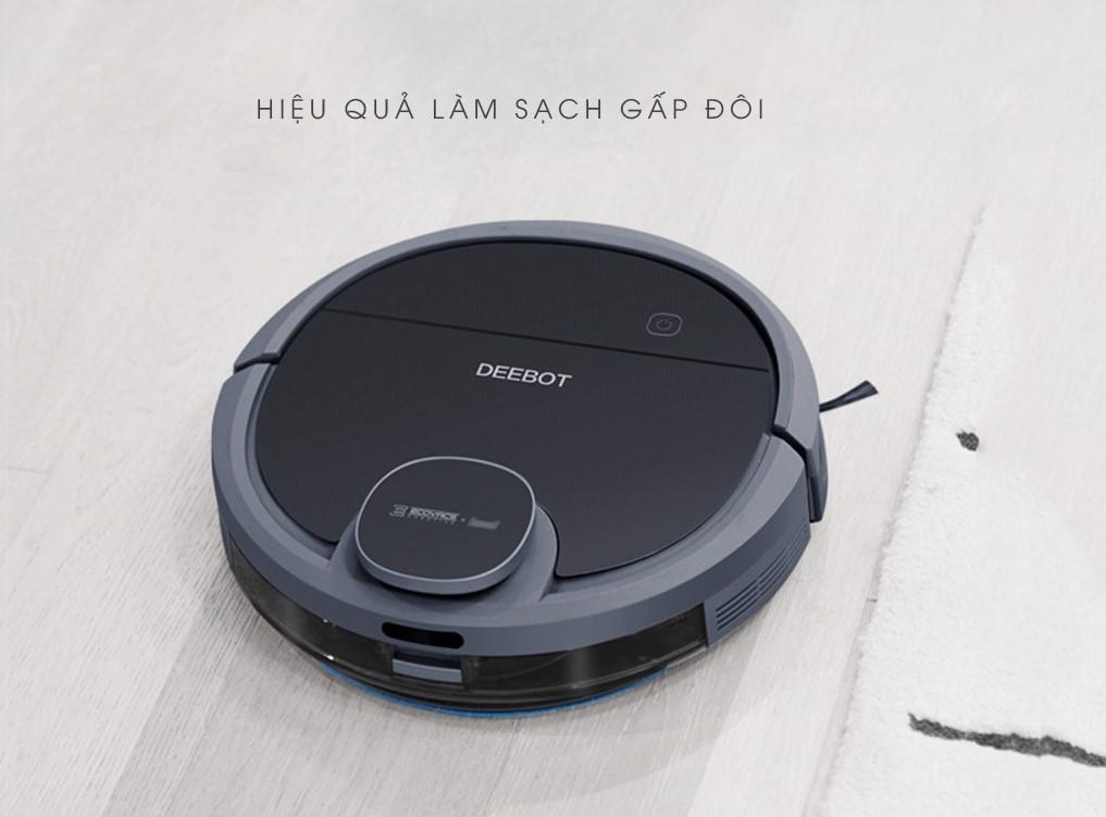 So sánh robot hút bụi Ecovacs T5 Hero với Ecovacs DN55/DN520