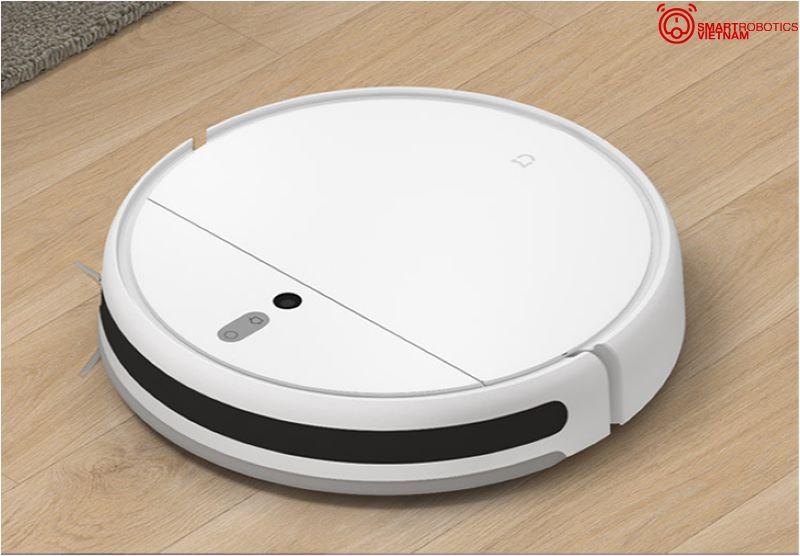 Robot hút bụi Xiaomi Mijia 1C không có cảm biến LDS như những robot Xiaomi khác