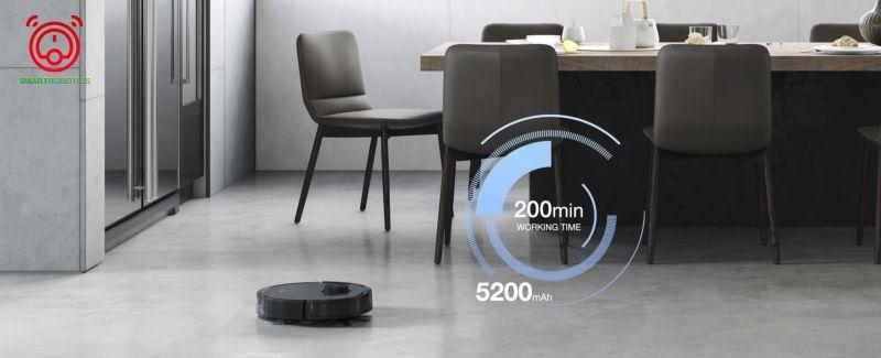 Thời lượng pin lớn hoạt động bền bỉ