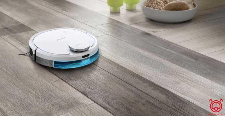 Chế độ làm sạch thông minh của Robot Ecovas Deebot DN33