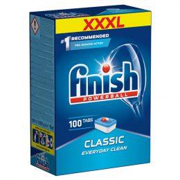 Viên rửa chén Finish Classic Dishwasher Tablets hộp 100 viên 14
