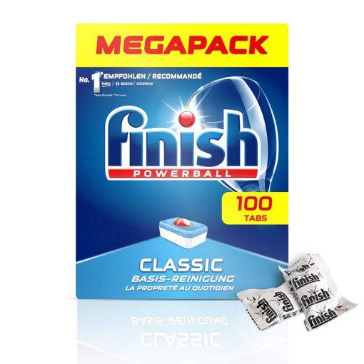 Viên rửa chén Finish Classic Dishwasher Tablets hộp 100 viên 4