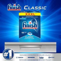 Viên rửa chén Finish Classic Dishwasher Tablets hộp 100 viên 8
