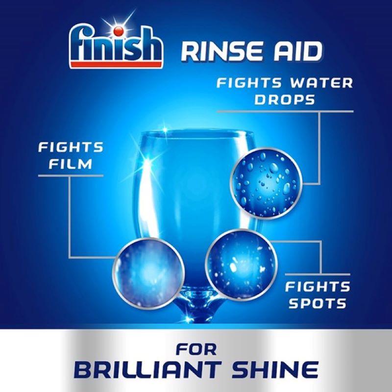 Nước làm bóng và khô chén đĩa Finish Dishwasher 800ml 17