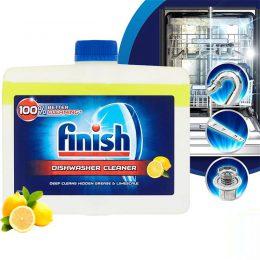 Finish Dishwasher Cleaner 250ml hương chanh đánh bay mọi vết bẩn