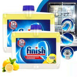 Finish Dishwasher Cleaner hương chanh