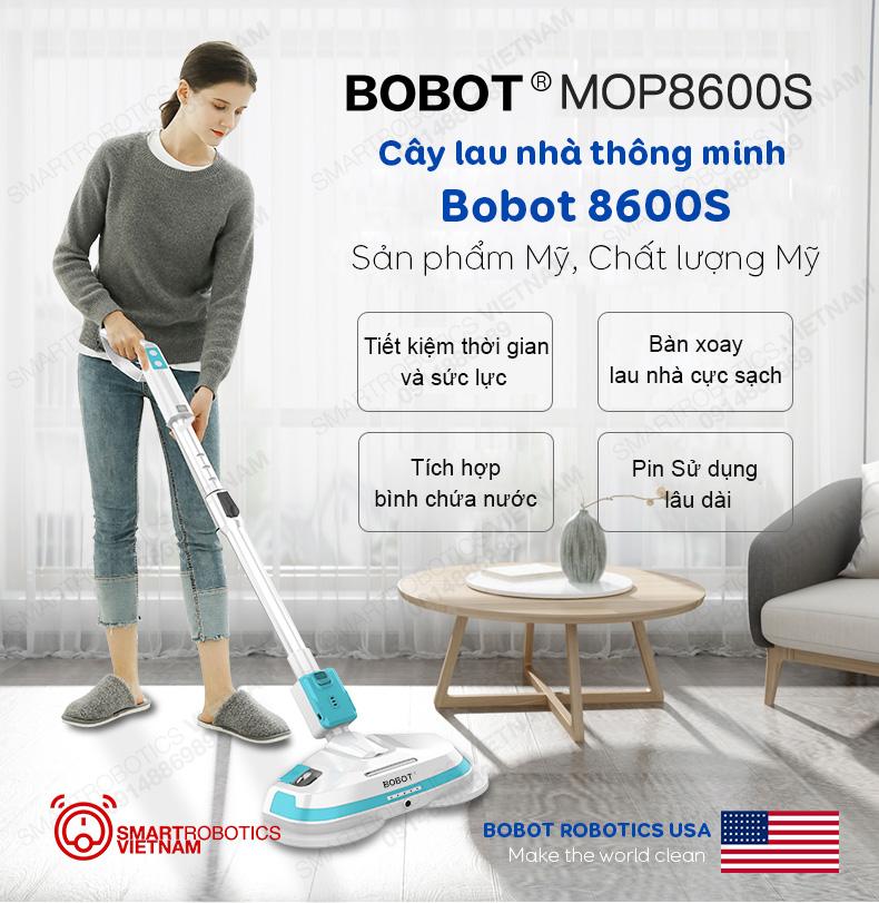Cây lau nhà thông minh Bobot Mop 8600s
