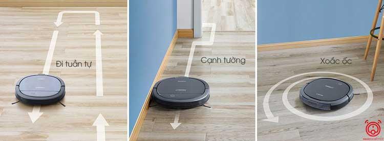 Khả năng làm sạch chuyên sâu từ từ Robot Ecovacs Deebot DK33