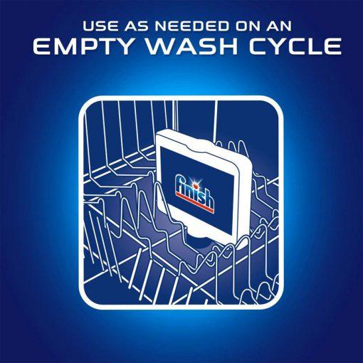 Dung dịch tẩy rửa máy rửa chén Finish Dishwasher Cleaner 250ml 13