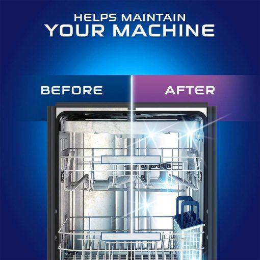 Dung dịch tẩy rửa máy rửa chén Finish Dishwasher Cleaner 250ml 12