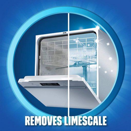 Dung dịch tẩy rửa máy rửa chén Finish Dishwasher Cleaner 250ml 11