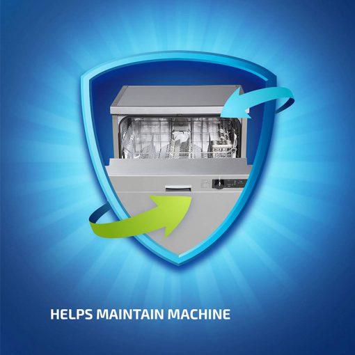 Dung dịch tẩy rửa máy rửa chén Finish Dishwasher Cleaner 250ml 9