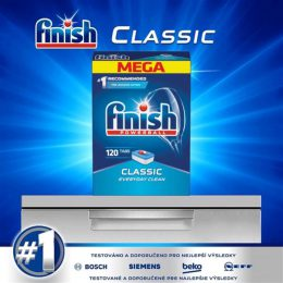 Finish Classic Dishwasher hộp 120 viên