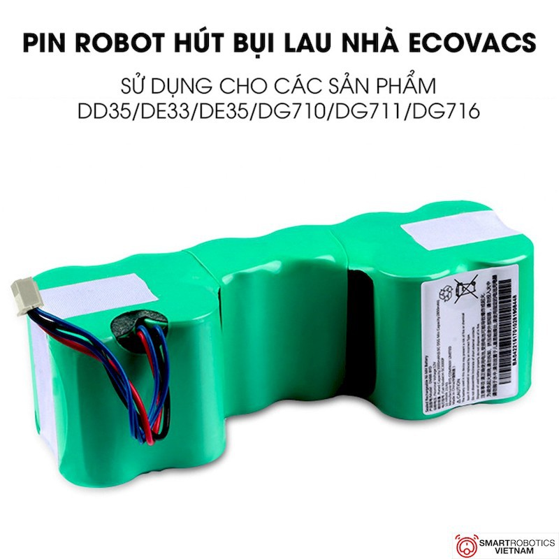 Cách sạc pin cho robot hút bụi