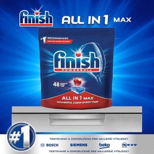 Viên rửa chén Finish All In 1 Max 48 viên