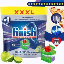 Finish Quantum Max 60 viên hương chanh táo