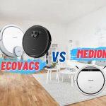 So sánh Robot hút bụi Ecovacs và Medion - Hai thương hiệu Robot hút bụi lau sàn tốt nhất 9